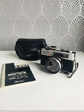 RICOH 500GX Camera RIKENON f=40mm 1:2,8 Lens  Rangefinder Instructions & Case
