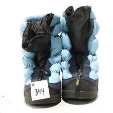 NEOS Overshoe 7000187 - Size XSmall Color Black/Light a Blue #344 - NO BOX