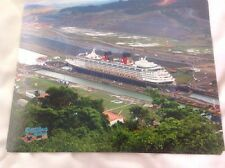 Disney Wonder professional photo 10X8 Dcl Disney Cruise line Panama Canal