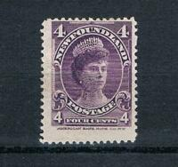 Newfoundland - 1901 - 4¢ Queen Mary - Violet - SC 84 [SG 89] MINT 19