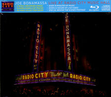 CD + Blu-Ray (NEU!) . JOE BONAMASSA live at Radio City Music Hall (mkmbh