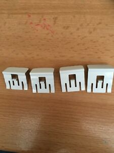 4 x Perfect Fit Blind Frame Brackets White 18mm,20mm, 22mm,24mm,30mm,38mm Spares