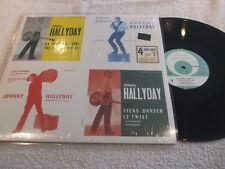 """maxi 45t  Johnny Hallyday  """"4 juke-box sur 1 maxi 45T""""   vinyle BLACK"""