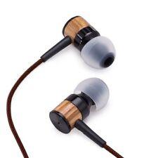 ARI Genuine Wood In-ear Noise-isolating Earbuds|Headphones|Earphones with Mic