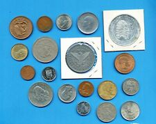 SOUTH & CENTRAL AMERICA (mostly)  - Lot of various coins - as shown