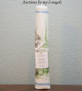 NEW Williams-Sonoma FLORAL MEADOW TABLE RUNNER 16x108 Easter Bunny Spring Garden