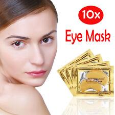 10x Collagen 24k Gold Under Eye Gel Pad Mask - Anti Ageing Wrinkle Bag Remover