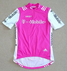 """EXCELLENT CONDITION T-MOBILE PRO TEAM JERSEY. ADIDAS 39"""" CIRCUMFERENCE"""