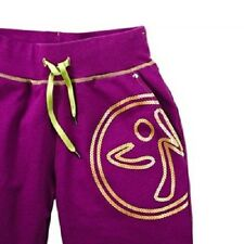 Authentic Zumba Disco Sweatpants Purple in Size ~ XS ~~RARE ~ ~SUPER COOL~ NWT