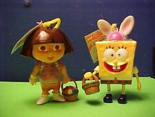 Easter candy  Dora & Spongebob Square Easter Pants!  Nickelodeon