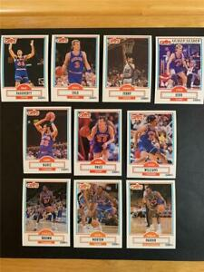 1990/91 Fleer Cleveland Cavaliers Team Set 10 Cards With Update