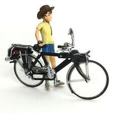 Time Slip Glico Miniature Bicycle National B-5E2SF Electro-Boy Z Kaiyodo Japan