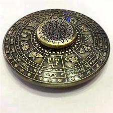 Retro Chinese Zodiac Totems Fidget Spinner Hand Brass Torqbar Focus Toys Gyro