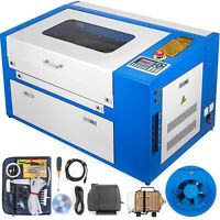 50W CO2 Laser Engraver Cutting Machine 500*300mm USB Port Laser Engraver