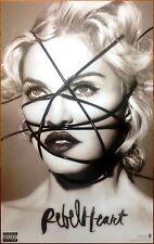 MADONNA Rebel Heart 2015 Ltd Ed RARE BIG New Poster +FREE Pop/Dance Poster!