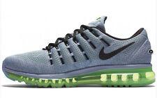 New Mens 7 NIKE Air Max 2016 Grey Electric Green Ocean Fog Shoes 806771-403 $190
