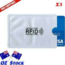 RFID Blocking Sleeve ID Credit Card Protector Sleeve Holder Cover - Oz Stock
