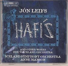 Jon Leifs - Anne Manson and Iceland SO: Hafis and other works (BIS) Like New
