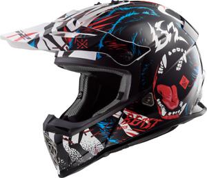 LS2 Beast Gate Youth Helmet - Gloss Black