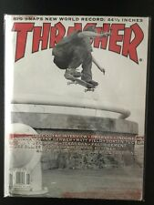Reese Forbes Element Vita May 2000 Nike Sb Thrasher Skateboard Magazine