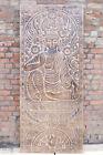 Buddha Seated On Lotus Bhumisparsha Budha Buddhist Wall Art Barn Door Panel 84