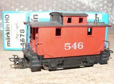S50 Märklin 4578 US Caboose