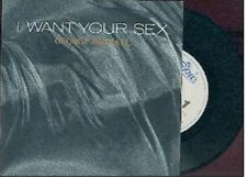 GEORGE MICHAEL - I want your sex / Epic-CBS 1987 .