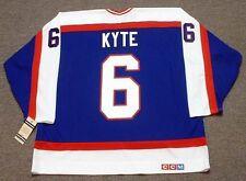 JIM KYTE Winnipeg Jets 1986 CCM Vintage Throwback Away NHL Hockey Jersey