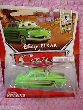 2013 Disney CARS Pixar EDWIN KRANKS #7/8✿Green ✿Retro Radiator Springs✿nip