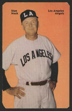 1952 Mother's Cookies PCL BB Card #60 - Stan Hack
