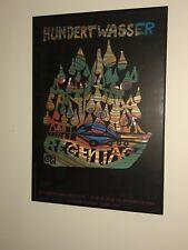 Hundertwasser Rainy Day Print Framed