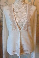 Women's Embroidered Paisley Design Cardigan from Next Size 16 BNWT