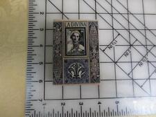 Hero Arts La Davina Travel postage collage  wood mounted  rubber stamp