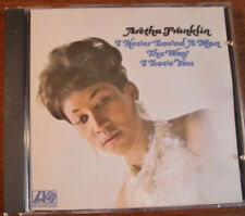 ARETHA FRANKLIN I NEVER LOVED A MAN WAY A LOVE YOU CD F.C.