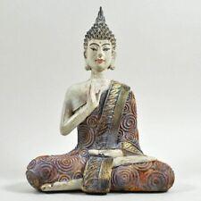 Massive Steinfigur große Thai Buddha Statue Torwächter aus Steinguss frostfest