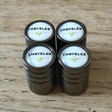 Válvula de coche de lujo Negro Chrysler Rueda de Aleación Polvo Tapas todos los modelos de 8 Colores 300C