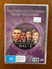 Stargate: SG1 - Season 5 DVD Region 4 New & Sealed