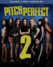 Pitch Perfect 2 (Blu-ray/DVD+ digital hd)free shipping.NEW SEALED.without slip