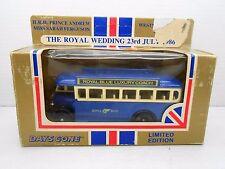1194 MATCHBOX ROYAL BLUE LUXURY COACH WEDDING 23 July 1986 Prince Andrew BUS