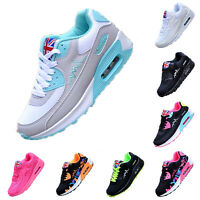 Neu Damen Mädchen Freizeit Schuhe Turnschuhe Air Sneaker Jogging Sportschuhe