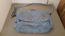 New Billabong Floral Print Denim Messenger Bag~SAMPLE