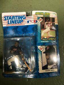 VINTAGE 1993 Kenner Starting Lineup MLB Figure Shane Mack Special Series Card