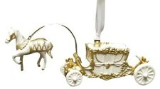 Horse & Carriage-Painted - Boxed Wedgwood Christmas Ornament by Wedgwood