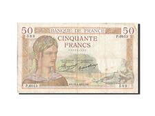 Billets, 50 Francs type Cérès #203747