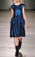 Marc by Marc Jacobs Blue Verushka lame dress BNWT UK 12