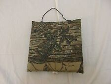 Two-A-Degree Woodland Real Tree Camouflage Hunting Blind Seat Padding 31990