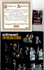 ROLLING STONES got live if you want it SACD Hybrid USA 2002 GOLDEN made JAPAN