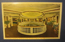 Old Vintage RIVOLI - Motion Picture MOVIE THEATRE Postcard - Broadway N.Y. Lobby