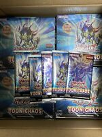 5x Yu-Gi-Oh! Toon Chaos Booster Packs Sealed (Unlimited) ~ Fast Shipping!