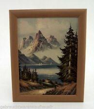 Deko-Bilder aus Holz mit Landschafts-Thema